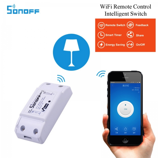 WiFi реле Sonoff 10A