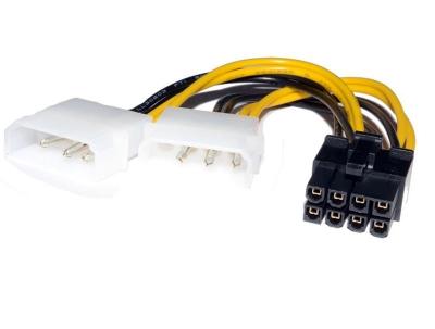 переходник 2xMolex - 6+2 pin