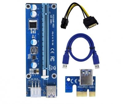 USB райзер 6 Pin