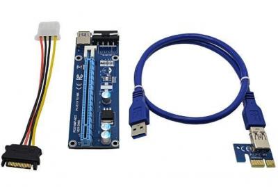 USB райзер Molex