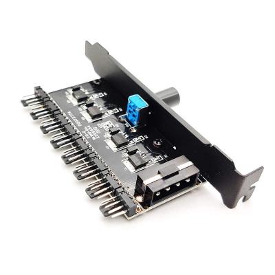 Хаб для 8 PWM вентиляторов с регулировкой